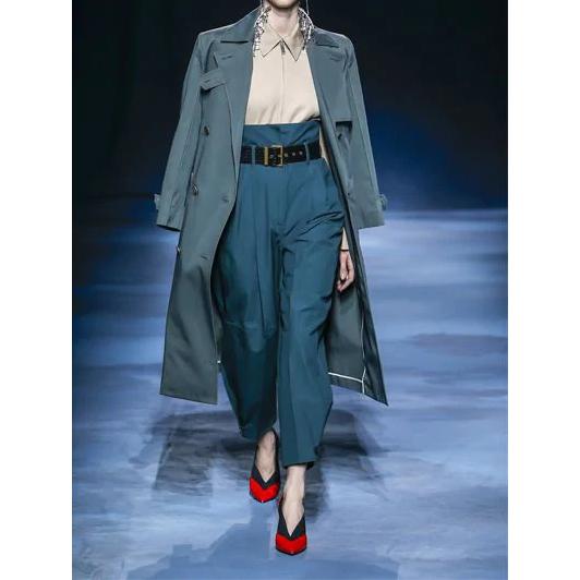 Givenchy 双排扣棉质风衣