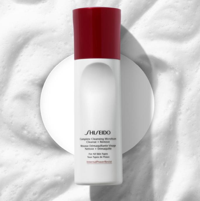 Shiseido 资生堂新品 全效防御洁面泡沫