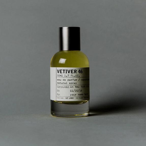 香根草香氛中的劳斯莱斯 Le Labo – Vetiver 46  香根草