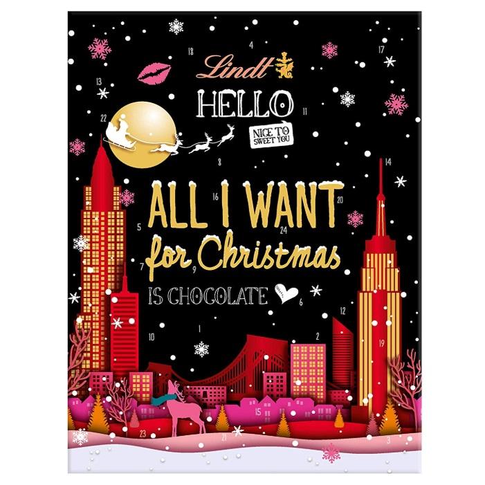 甜蜜多一点!Lindt Hello Adventskalender瑞士莲 圣诞倒数日历
