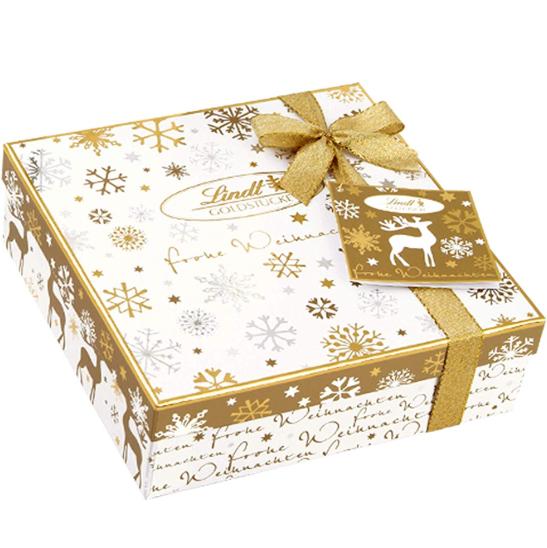 Lindt瑞士莲金砖牛奶巧克力礼盒