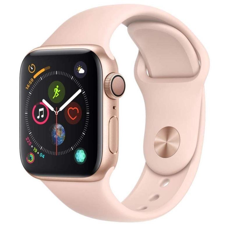 黑五直降100欧!Apple Watch Series 4苹果四代智能手表 玫瑰金色!
