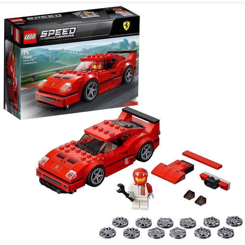 大小朋友永远的心头爱!LEGO Speed Champions 法拉利赛车