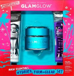 【Flaconi正价商品7折优惠码】Glamglow 格莱魅水漾泥润面膜HOLIDAY 2019套装