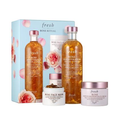 Sephora的Fresh今天可以75折!Fresh Rose Ritual玫瑰套装