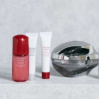 Shiseido 资生堂 百优焕透亮颜面霜节日套装