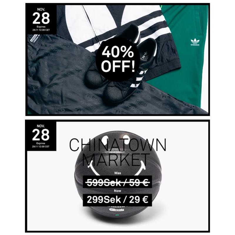 【每天都有新折扣】Caliroots Adidas阿迪达斯黑五活动!
