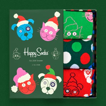 脚脚也要欢喜过圣诞!Happy socks官网促销
