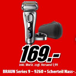 Braun 博朗9系 9260 电动剃须刀