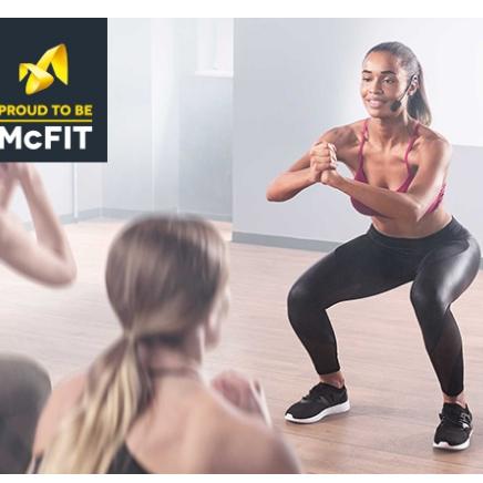 McFIT健身房会员卡一个月特价试用期活动来啦