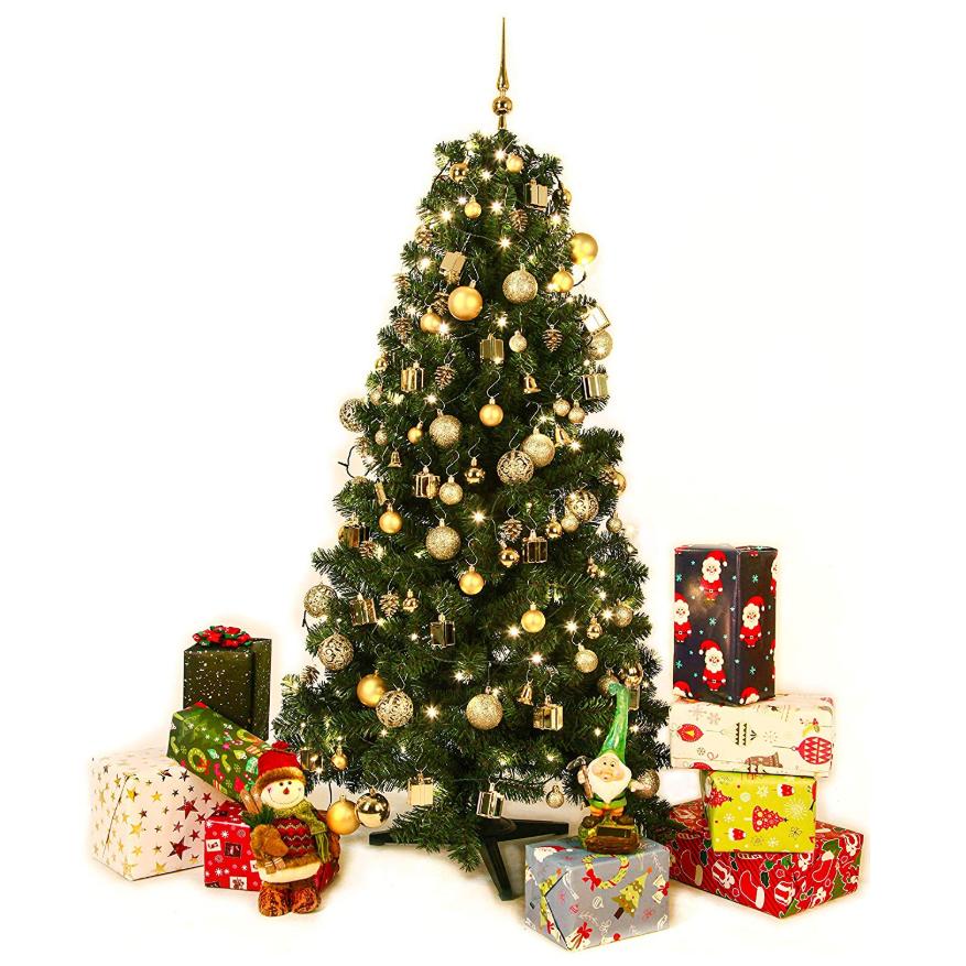 圣诞节终于要来啦 圣诞树装饰品该搞起来了!