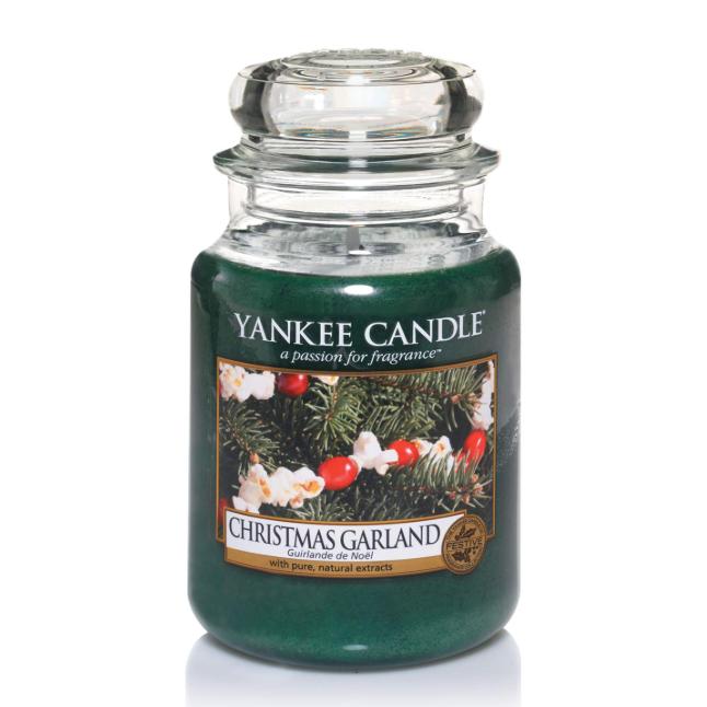 Yankee Candle圣诞专属香薰 松柏枝+蔓越莓