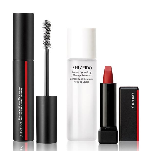 眼唇妆容一步到位!Shiseido资生堂 眼唇彩妆卸妆套装