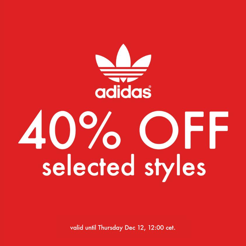 潮流界经典他们制霸!Adidas阿迪达斯 经典球鞋服饰配件特卖!