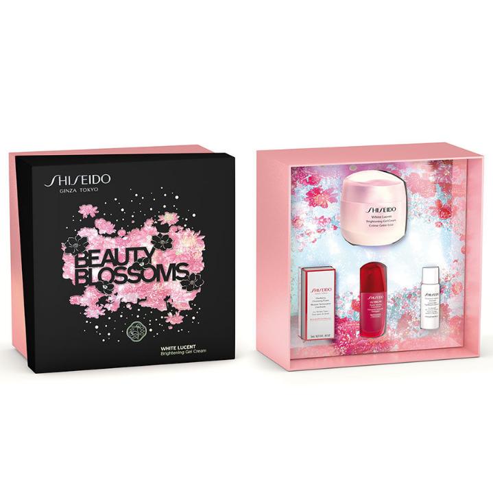净透焕白的梦幻美肌!Shiseido 资生堂新透白系列套装