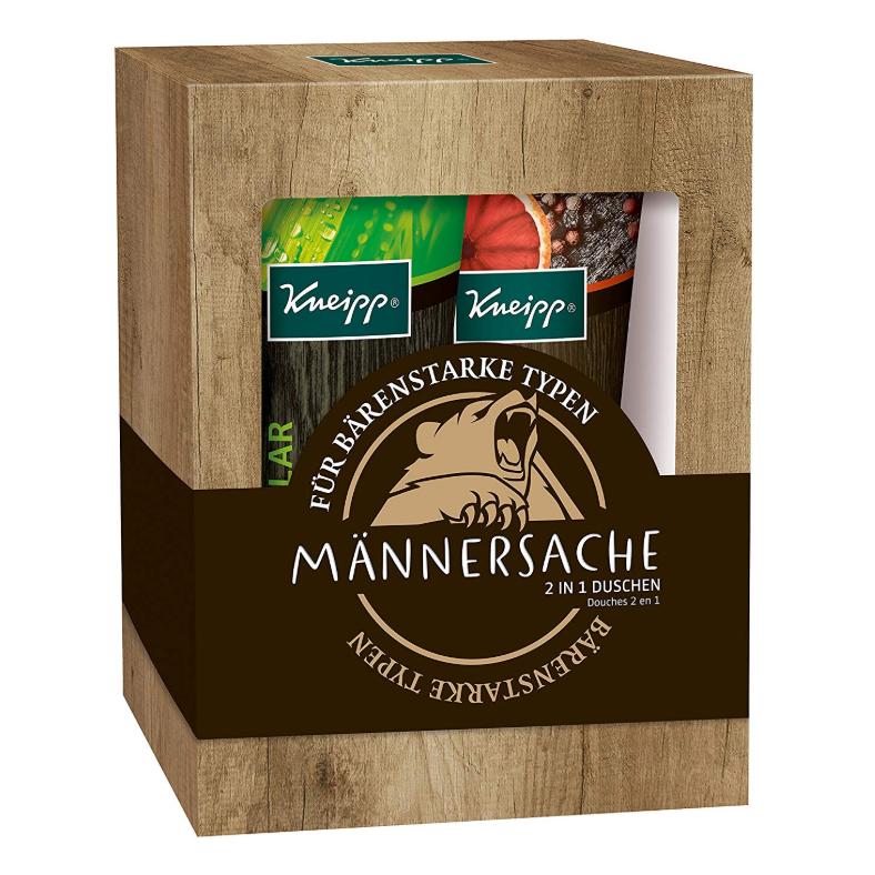 Kneipp Geschenkpackung Männersache 男士沐浴乳套装 2 x 200 ml