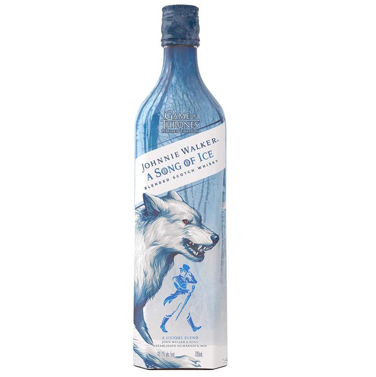 送给权力的游戏迷们最好的礼物!Johnnie Walker A Song of Ice 收藏版冰之歌威士忌