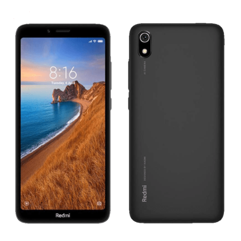 XIAOMI小米 Redmi 7A 2 16GB 黑色哑光双卡双待手机
