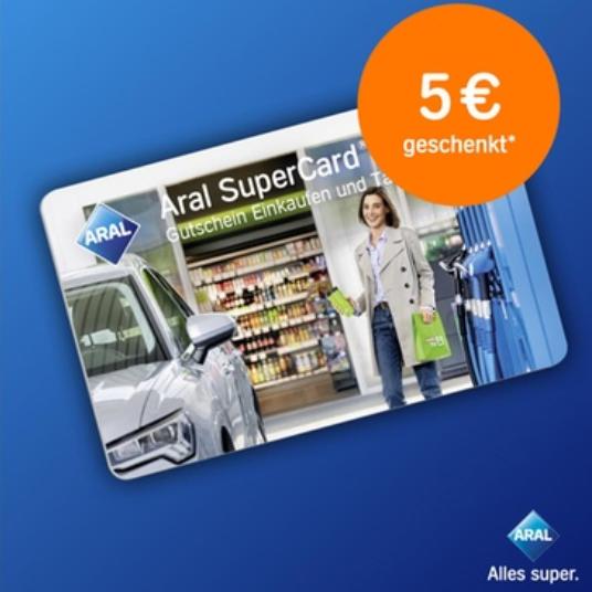 德国连锁加油站ARAL加油购物卡 Aral SuperCard
