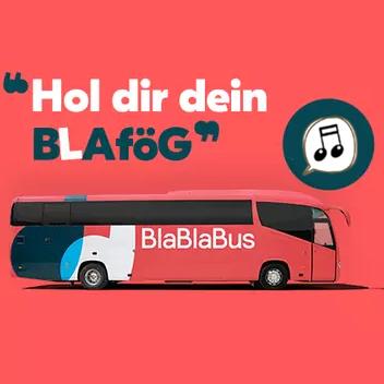 舒适大巴,免费WIFI!BlaBlaBus代金券,