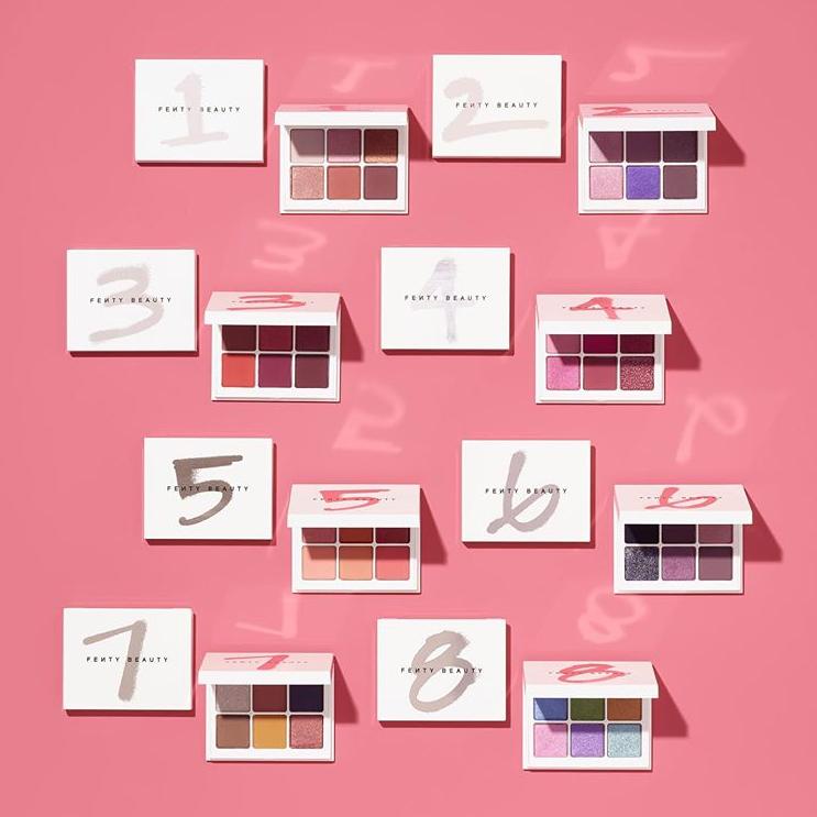 全新Fenty Beauty Snap Shadows6色眼影盘