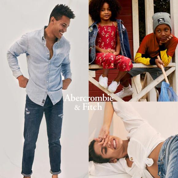 将美式风格演绎到底 Abercrombie & Fitch 男女装及童装特卖