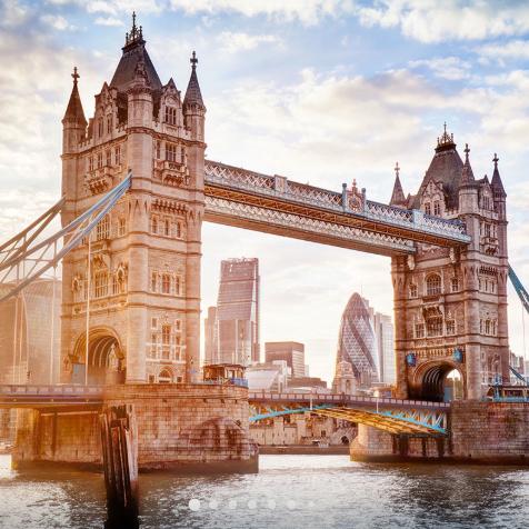泰晤士河,大本钟,国王十字站台?游伦敦,体验千年历史风情!