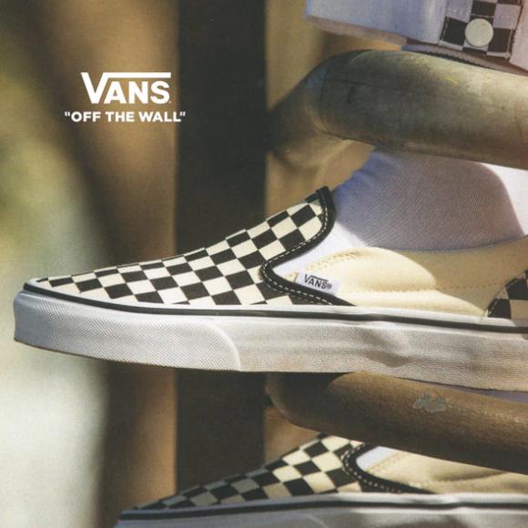 一双走遍天下的复古板鞋Vans 男女儿童鞋履服饰