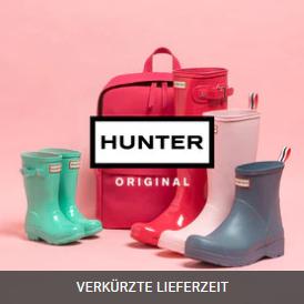 颜值和实用并存!Hunter 猎人男女儿童雨靴服饰配饰