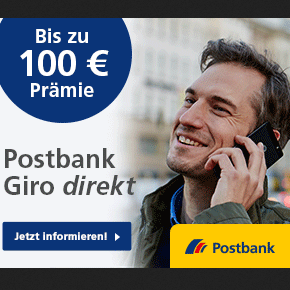 Postbank Giro direkt开通账户