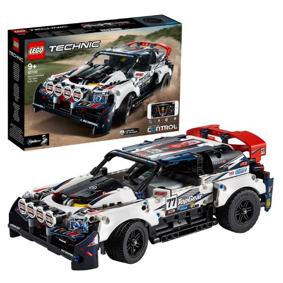 乐高LEGO 机械组42109 拉力赛车