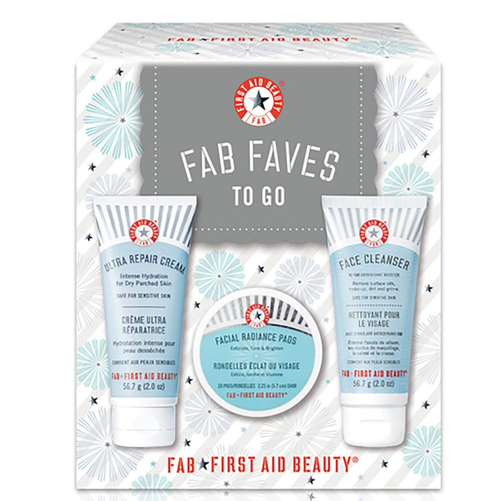 First Aid Beauty急救美人 Faves to Go Kit 全明星旅行三件套装