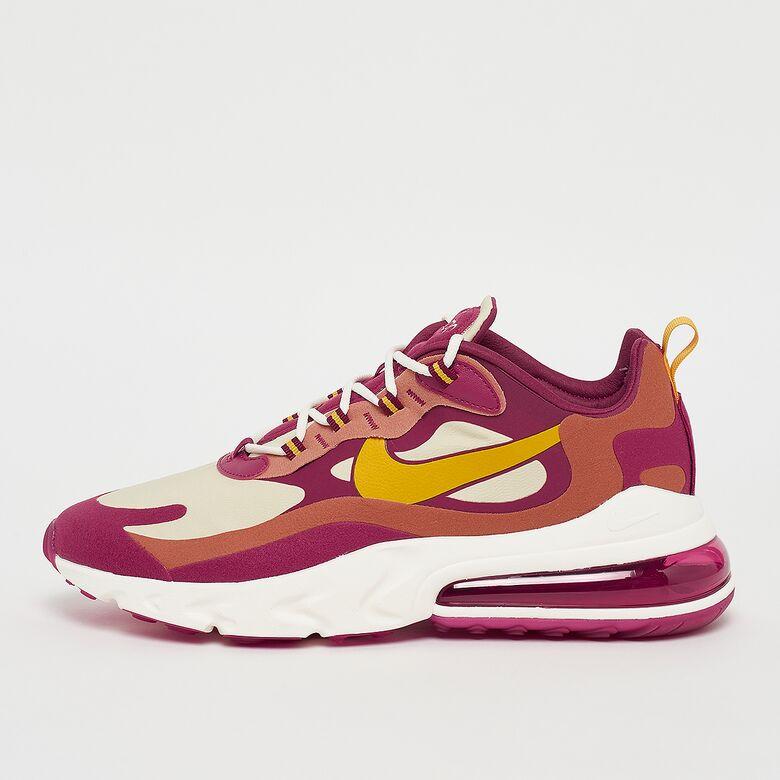 经典的后现代感!Nike Air Max 270 React女士跑鞋