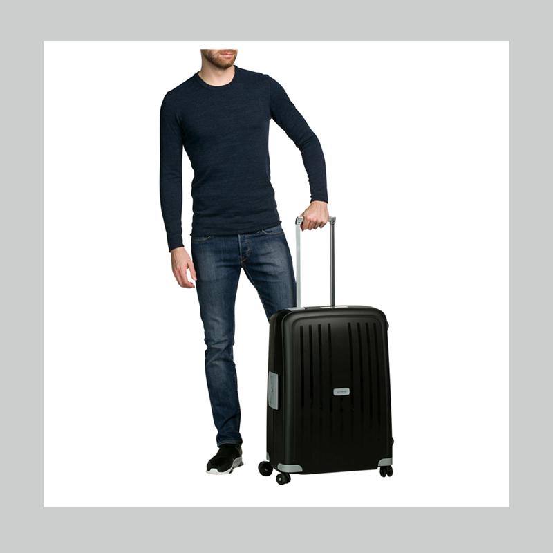 商务精英人士的首选!Samsonite 新秀丽黑色行李箱