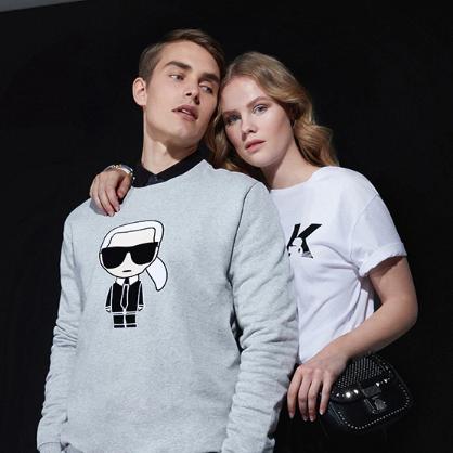 香奈儿首席设计师的品牌 Karl Lagerfeld 卡尔拉格斐 男女服饰配饰鞋履