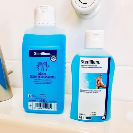 消毒防护不能少!Sterillium 来自德国的消毒清洁专家