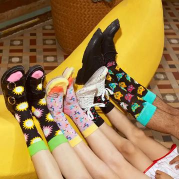 Happy socks情人节,快和你的TA穿情侣袜吧!