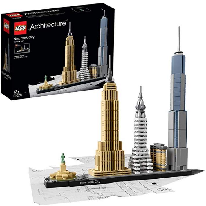 Lego乐高建筑系列 城市天际线 NYC纽约