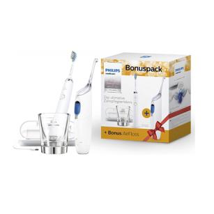 Philips Sonicare Bonuspack HX8492/01电动牙刷+水牙线套装