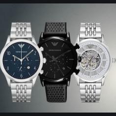 【直邮中国】Emporio Armani奢华腕表,给他最好的礼物