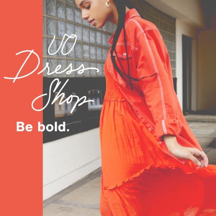 年轻时尚的态度 Urban Outfitters 2020春季服饰特卖