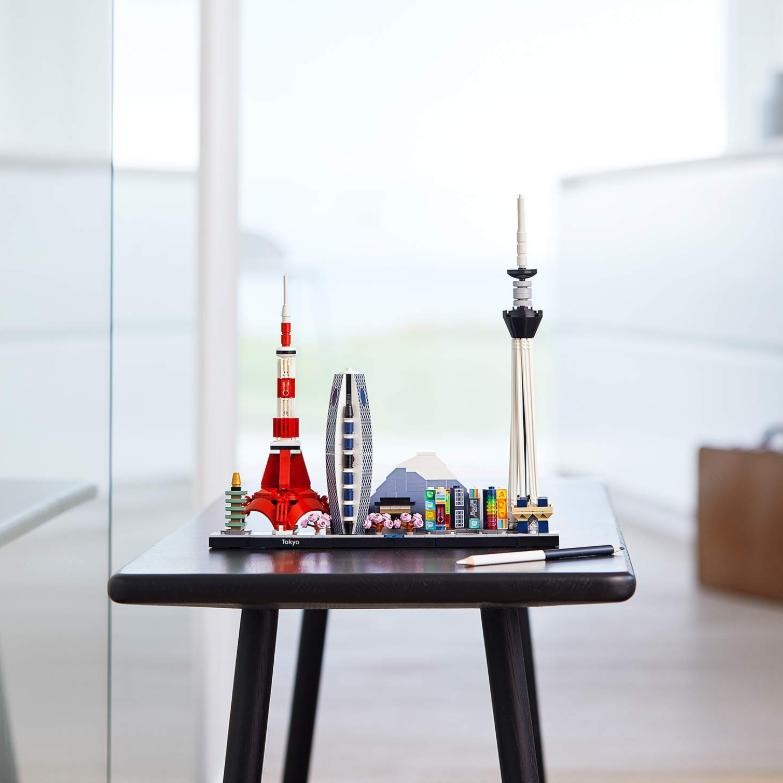 用lego看遍世界!LEGO 21051 Architecture Tokio Skyline 东京天际线