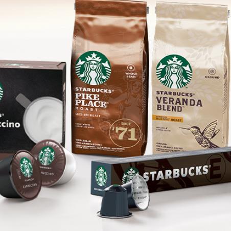 在家也能享受到星巴克!Starbucks NESPRESSO咖啡胶囊80颗