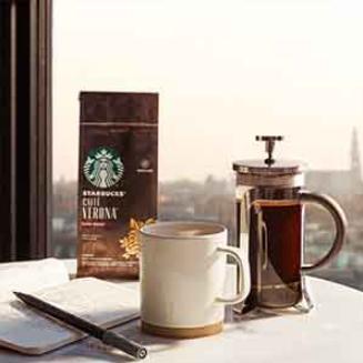 星巴克 STARBUCKS House Blend 中度烘焙研磨咖啡粉  200gx6袋