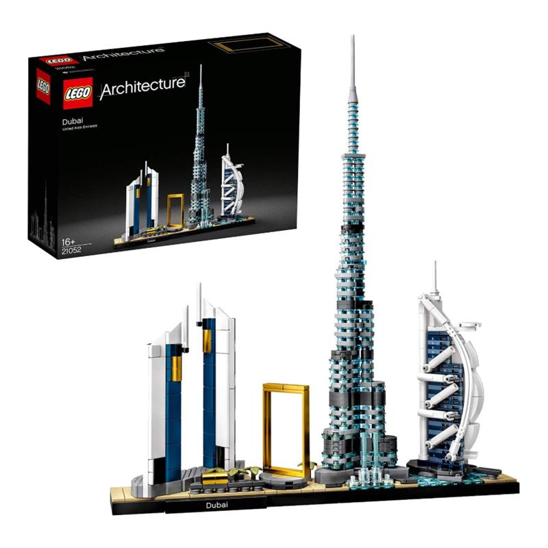 用乐高看遍世界!LEGO 乐高城市系列迪拜天际线