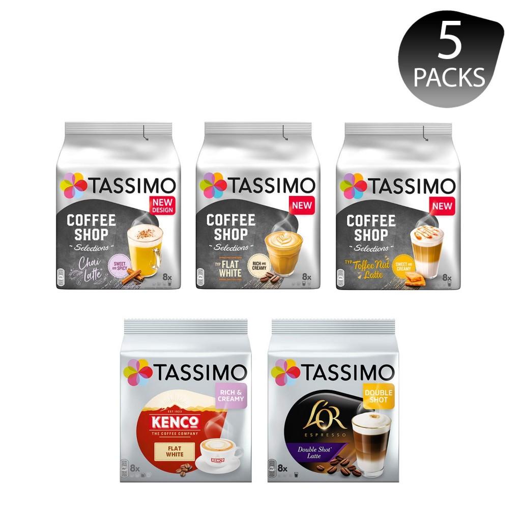 用香浓的咖啡开启新的一天!Tassimo 咖啡胶囊五种口味体验装
