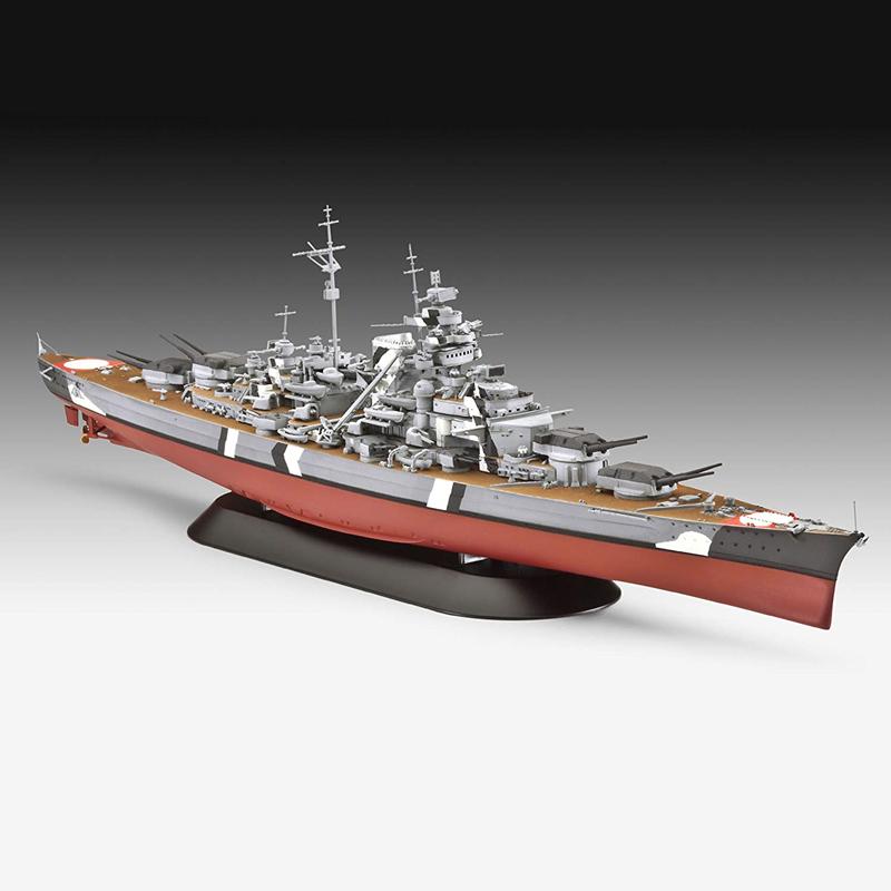 军事迷们不能错过!Revell 俾斯麦号战列舰模型