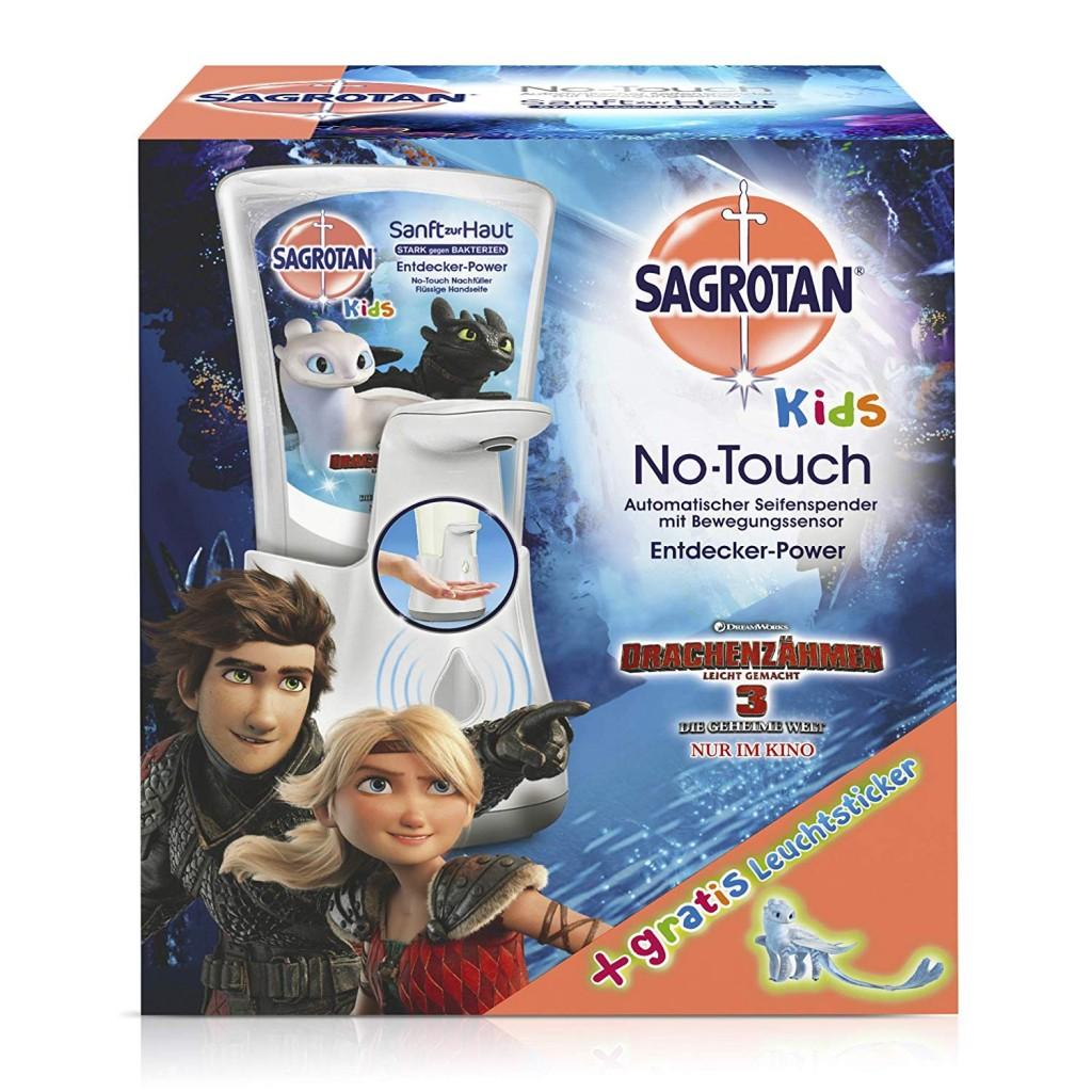 让小朋友爱上洗手!Sagrotan 免触摸式皂液器