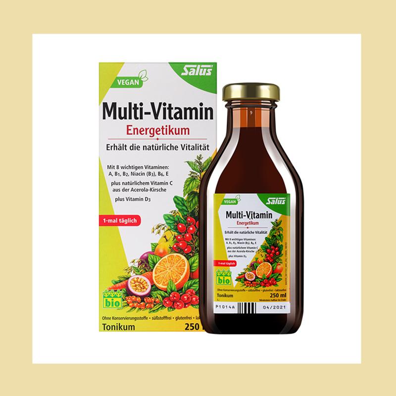 增强抵抗力!Salus天然复合维生素饮品500ml