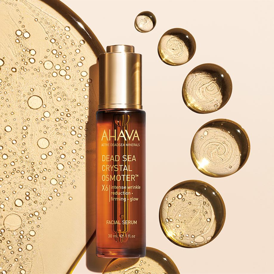 6倍死海能量修复肌底!AHAVA Dead Sea 死海黄金瓶精华肌底液